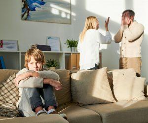 Konflikte in der Familie oder mit dem Partner